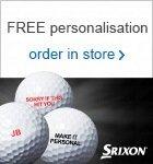 Srixon free logo or personalised ball this Xmas