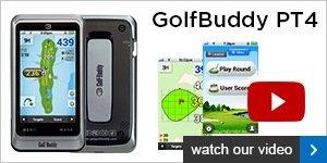 GolfBuddy PT4 touch screen GPS