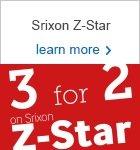 Srixon Z-Star 3 for 2 - save £34.99