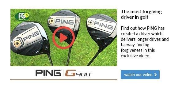 PING G400 Drivers