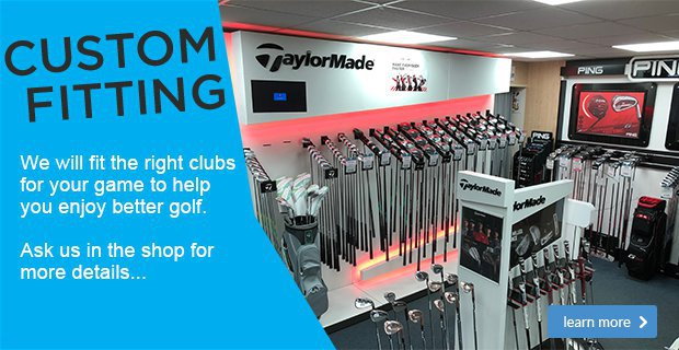 Custom Fit Mark Rogers York Golf Club