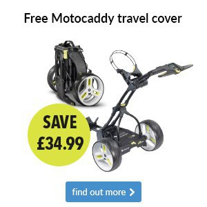 Motocaddy - Free travel cover with any M-Series
